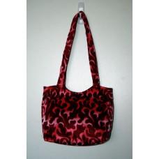 Pink Dragon Flame Handbag